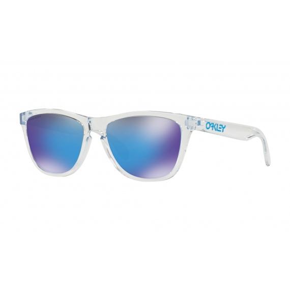 9e5cd67b16 Oakley FROGSKINS - 9013-D055 Crystal Clear-Prizm Sapphire Iridium